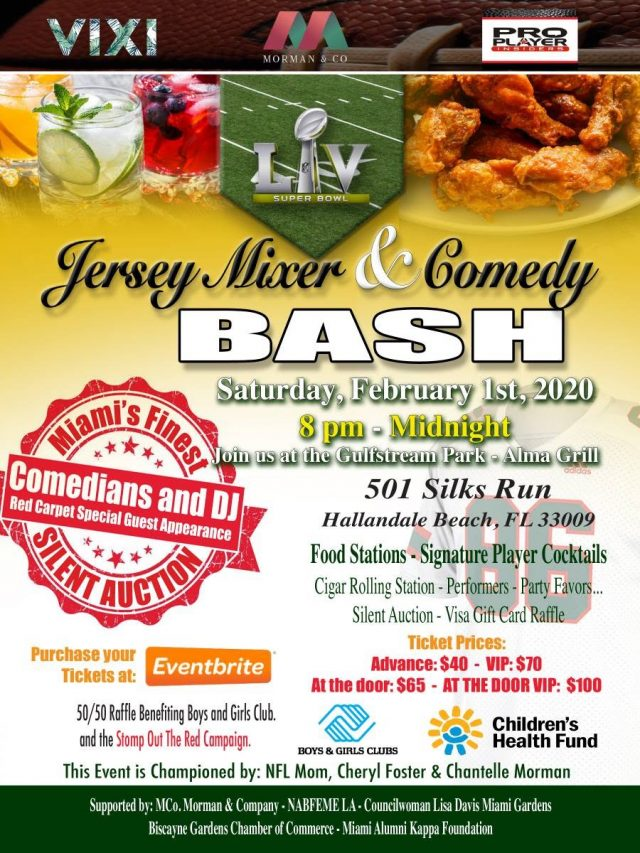 Jersey Mixer & Comedy Bash